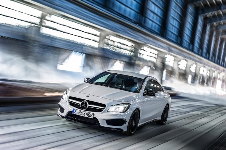 Mercedes CLA 45 AMG Roars Into New York [Photo Gallery]