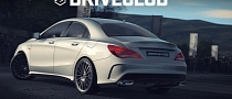 Mercedes CLA 45 AMG Shown in PlayStation 4 Game Driveclub [Video]