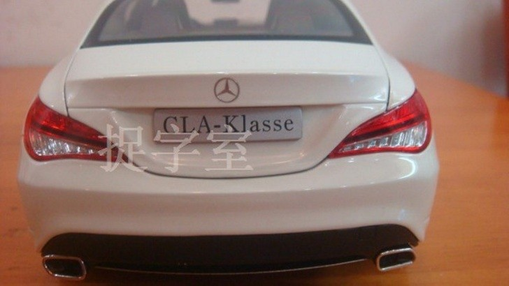 Mercedes CLA Compact Sedan Die-Cast Model [Photo Gallery]