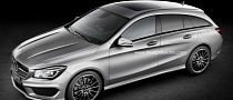Mercedes CLA Shooting Brake Rendering