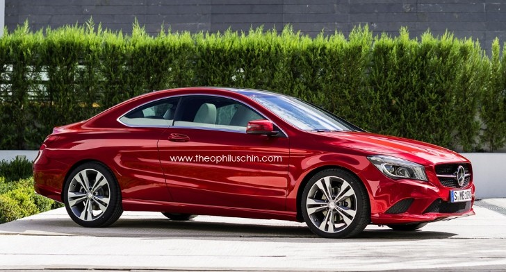 Mercedes CLA Two-Door Coupe Rendering - autoevolution