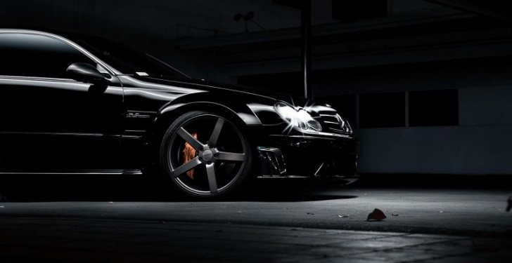 Mercedes CLK 63 AMG Black Series on Vossen Wheels Teased