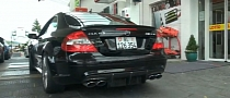Mercedes CLK63 AMG Black Series Growls at the Ring [Video]