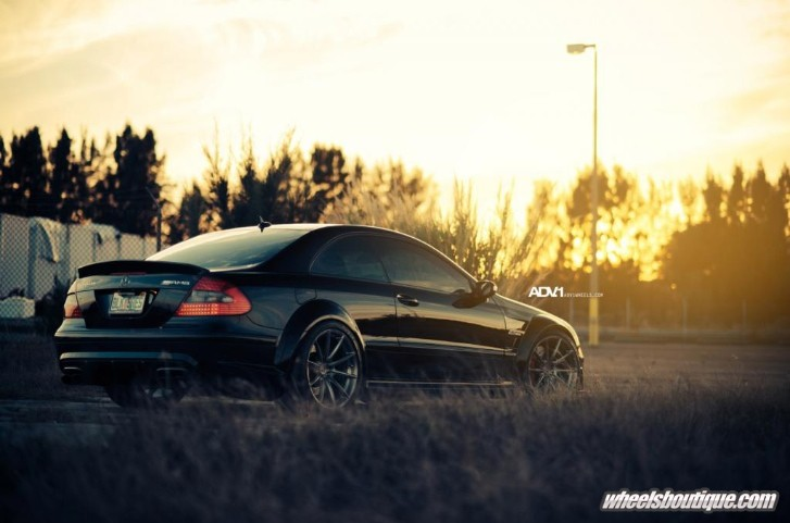Mercedes CLK63 Black Series Riding on ADV1 Wheels [Photo Gallery]