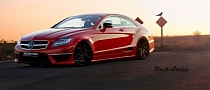 Mercedes CLS 2-Door Coupe Rendered on ADV.1 Wheels