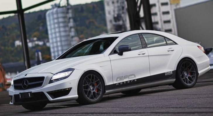 Mercedes CLS 63 AMG Tuned to 800 HP by GAD Motors