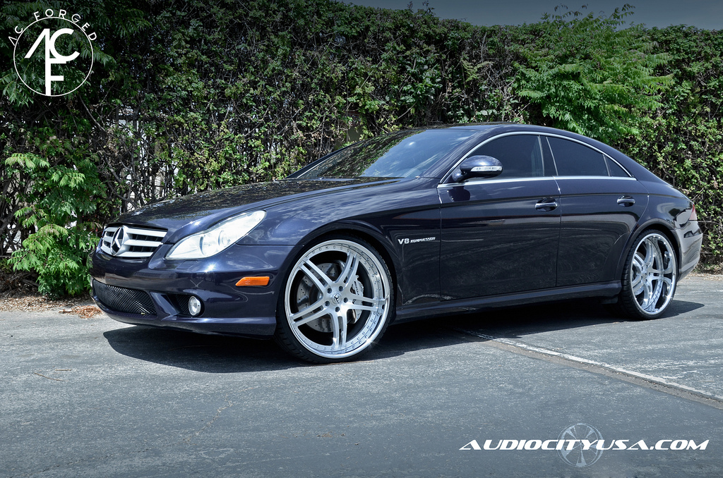 Mercedes Cls Amg Gets 22 Inch Ac Forged Wheels Autoevolution