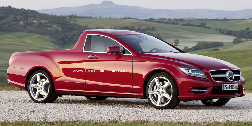 Mercedes Cls Rendered As Australian Ute Autoevolution