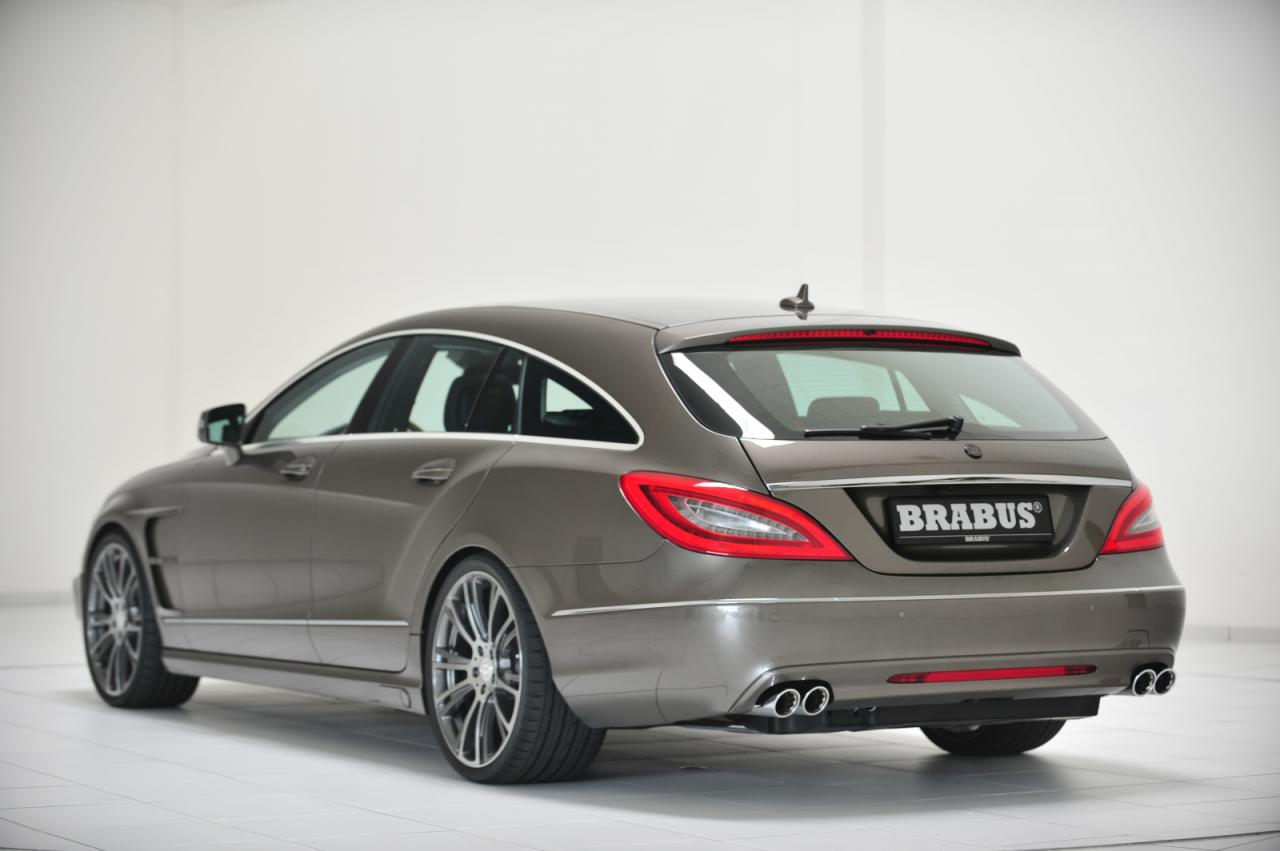 Gls 63 Amg >> Mercedes CLS Shooting Brake Tuned by Brabus - autoevolution