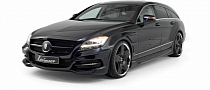 Mercedes CLS Shooting Brake Tuning by Lorinser