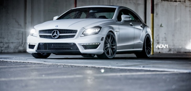 Mercedes CLS63 AMG Gets ADV.1 Wheels [Photo Gallery]