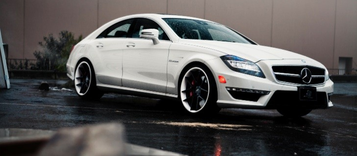 Mercedes CLS63 AMG on ADV1 Wheels [Photo Gallery]