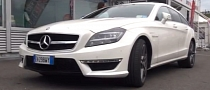 Mercedes CLS63 AMG Shooting Brake Exhaust Sound [Video]