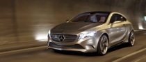 Mercedes Concept A-Klasse World Premiere in Shanghai