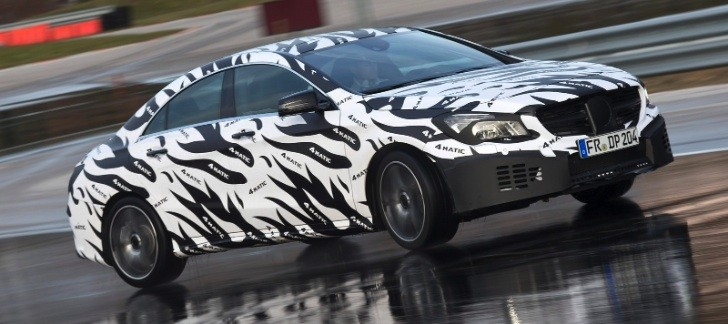 Mercedes Details New 4Matic Front-Biased AWD System for CLA