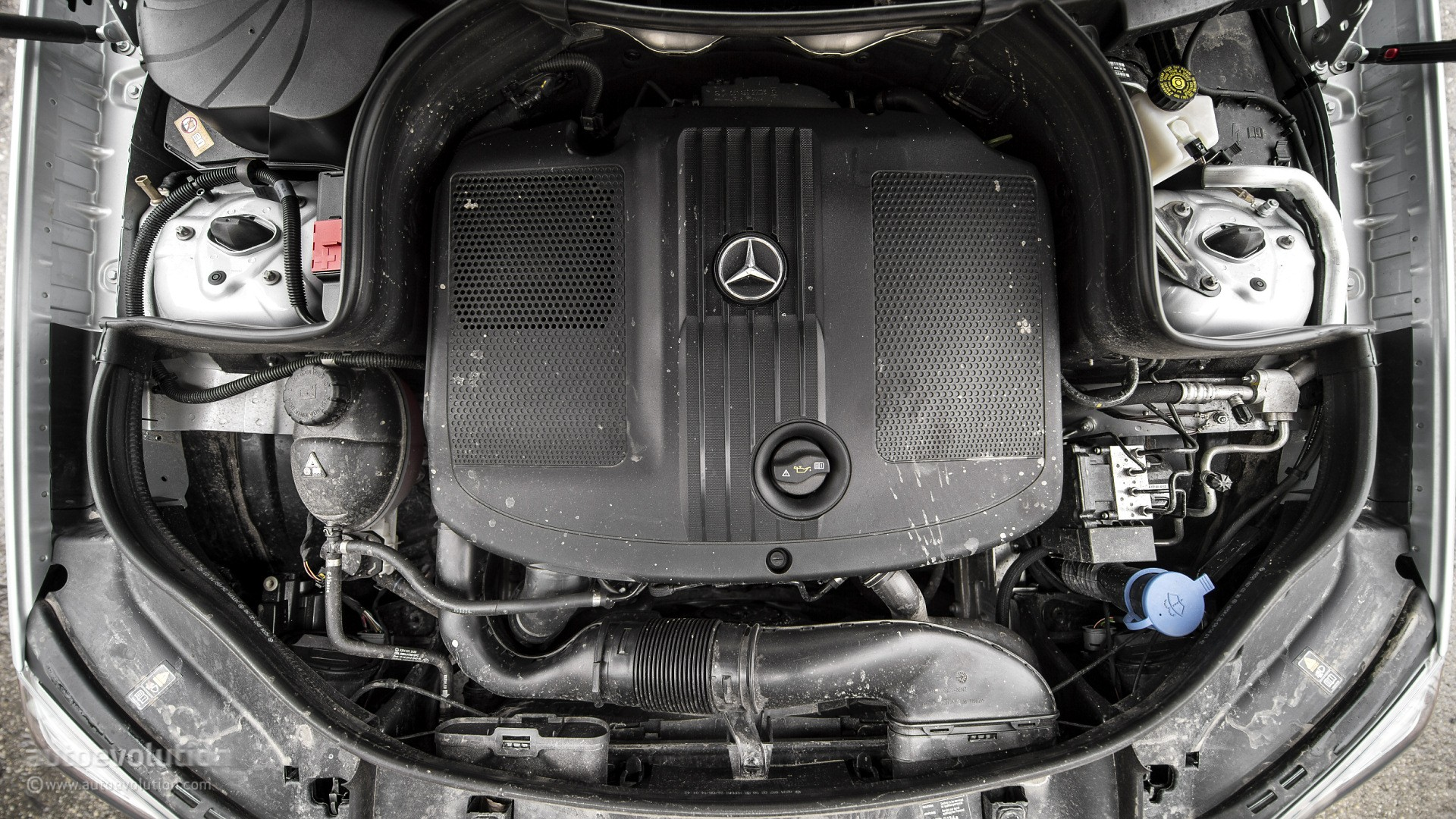 Mercedes Diesel Engine Possible Defeat Software Found During