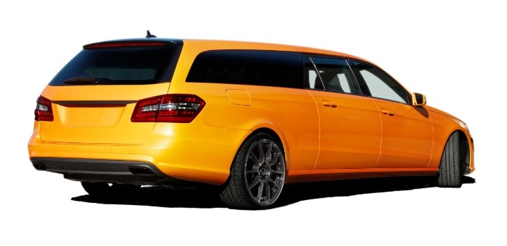 Mercedes E-Class Estate Stretched Coming from Binz [Photo Gallery]