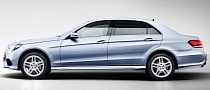 Mercedes E-Class Gets New Longer Wheelbase in China