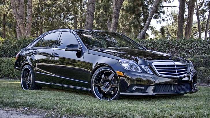 Mercedes e350 custom treatment by hess motorsports for Mercedes benz customized