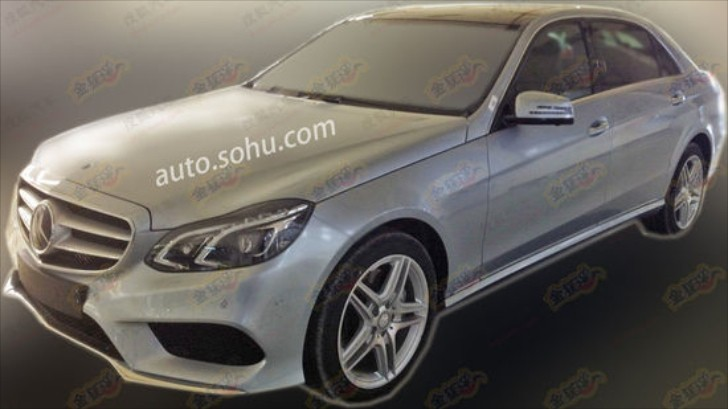 Mercedes E400L Spotted in China Uses 333 HP 3.0L V6