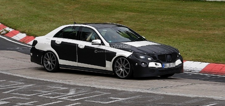 Mercedes E63 AMG Facelift with AWD 4Matic to Debut in Detroit