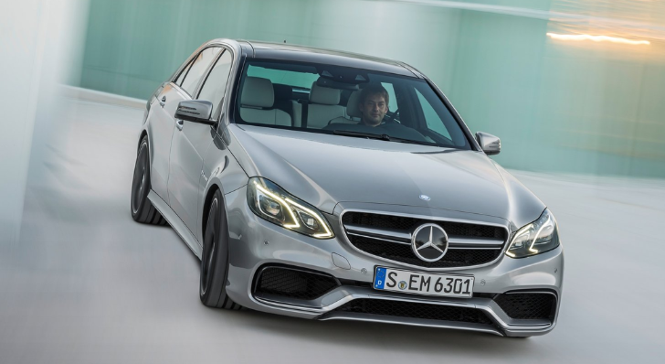 Mercedes E63 AMG S-Model Commercial: Opposites Attract [Video]
