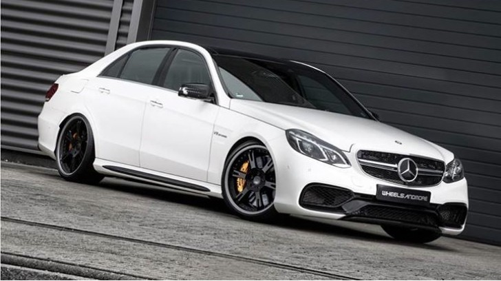 Mercedes E63 AMG S-Model Tuned by Wheelsandmore