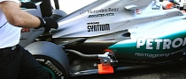 Mercedes F1 Testing Coanda-Style Exhaust in France
