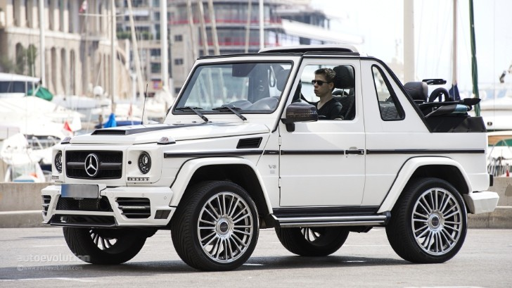 Mercedes G-Class Cabriolet Goes Out of Production [Photo Gallery]