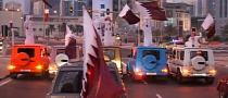 Mercedes G55 AMG National Day Parade in Qatar [Video]