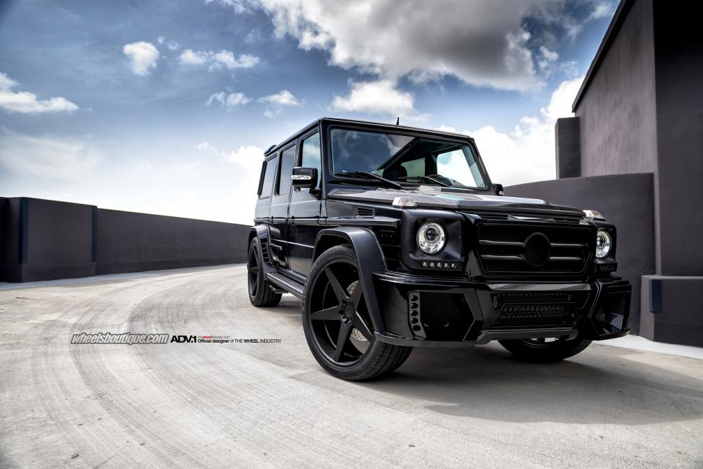 Mercedes G55 Amg Poses As G63 Amg On Adv 1 Wheels