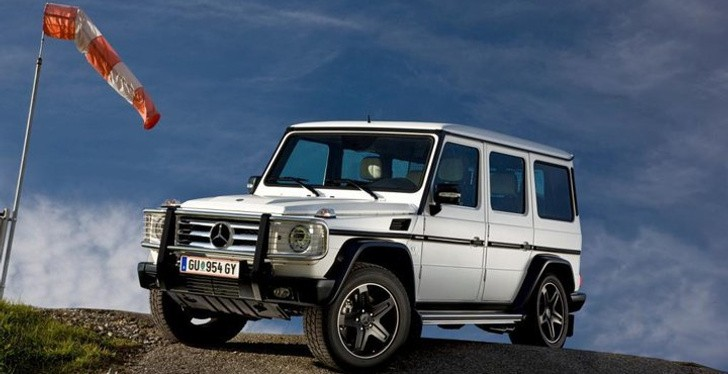 Mercedes G55 Arabia 100 Limited Edition Launched in Oman