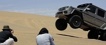 Mercedes G63 AMG 6x6 Fights the Desert: Making-Of Movie Released [Video]