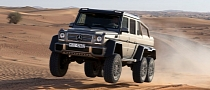 Mercedes G63 AMG 6x6 to Start From €451,010