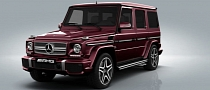 Mercedes G63 AMG and G65 AMG Color Configurator