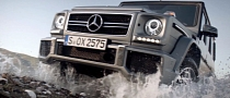 Mercedes G63 AMG in New Eye-Candy Commercial [Video]