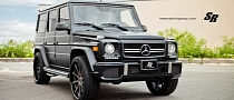 Mercedes G63 AMG Gets Agetro Wheels