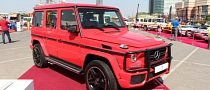 Mercedes G63 AMG Gets Red and Carbon Wrap [Video] [Photo Gallery]
