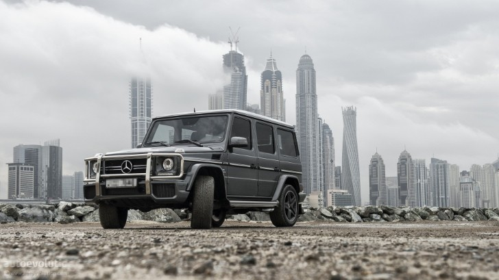 Mercedes G63 AMG: Made for Dubai
