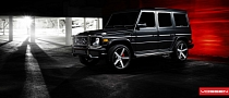 Mercedes G63 AMG on Vossen Wheels [Photo Gallery]