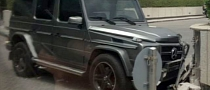 Mercedes G65 AMG Crashed by Valet with No Driving License