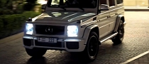 Mercedes G65 AMG V12 Engine Sound in Dubai [Video]