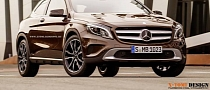 Mercedes GLA 3-Door Rendered for No Good Reason