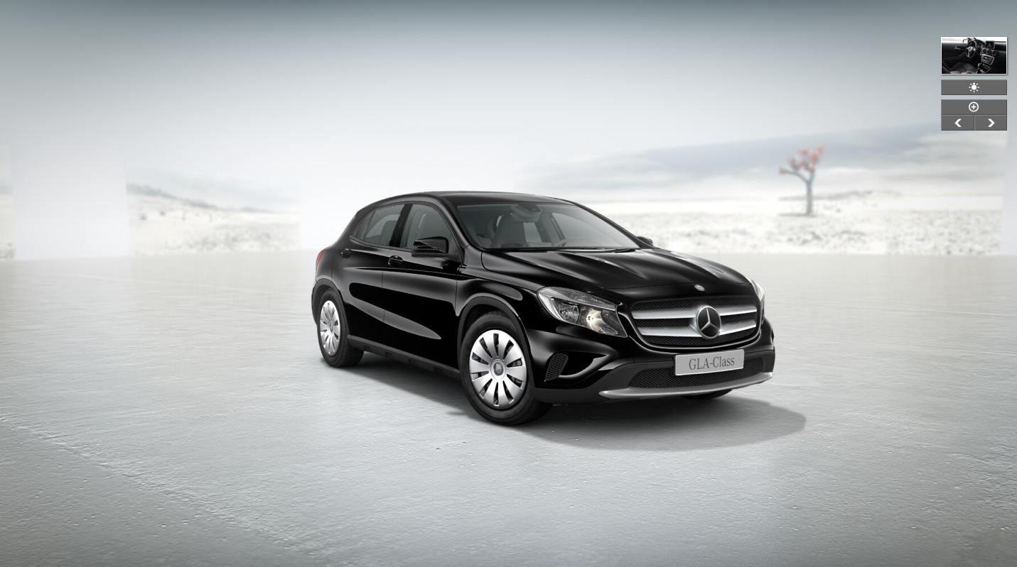 Mercedes Gla Class Gets Entry Level 1 5 Liter Diesel