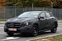 Mercedes GLA Compact Crossover Spied From Up Close