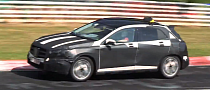 Mercedes GLA Spied Testing With Taxi Sign on Roof [Video]