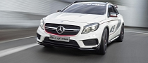 Mercedes Concept GLA45 AMG: Almost Ready for Production in LA [Video] [Photo Gallery]