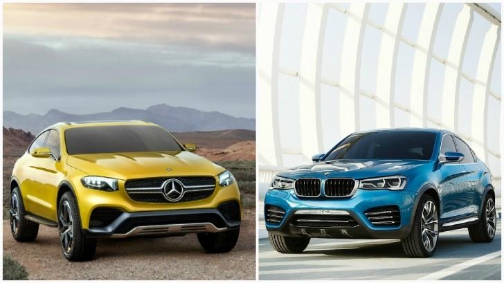 Mercedes Glc Coupe Vs Bmw X4 The Sports Activity Coupe Battle Continues Autoevolution