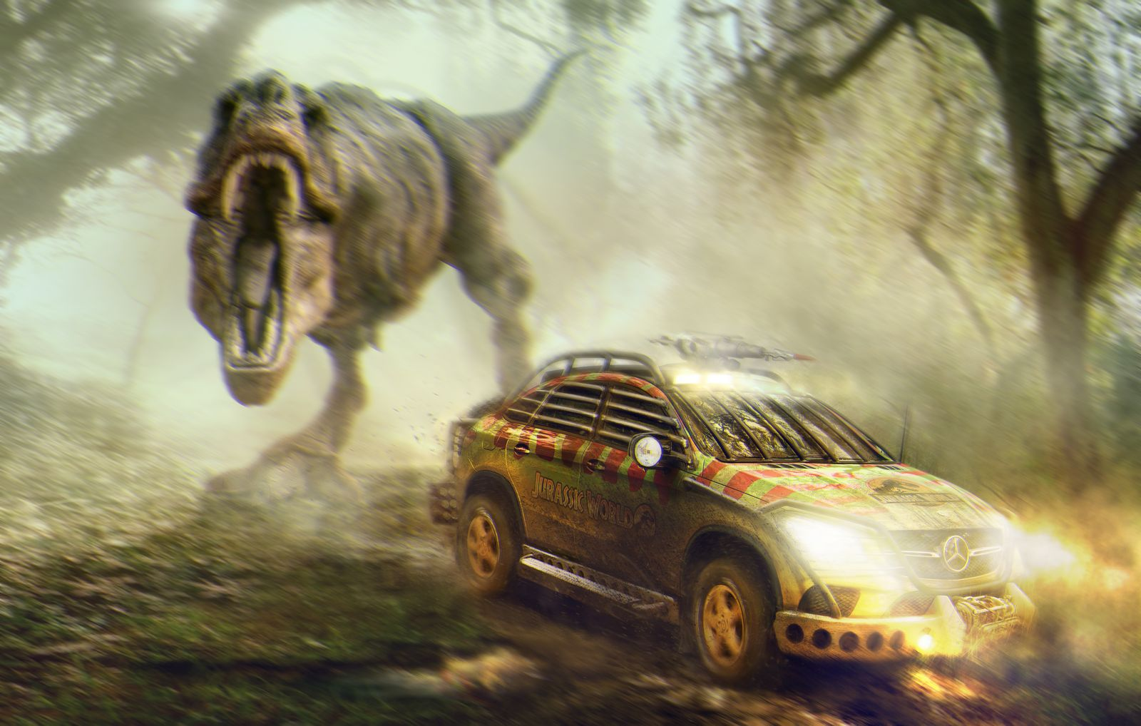 Image result for dinosaurs suv
