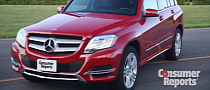 Mercedes GLK 350 Facelift Gets Reviewed by Consumer Reports [Video]